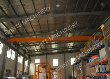 Trung Quốc LDX1t-12m Single Girder Overhead Cranes for machinery works/ Workshop / Warehouse / Station nhà máy sản xuất